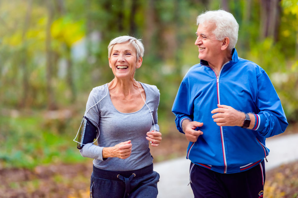 older couple running dental implant middleborough ma