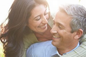 smiling couple middleboro dentist