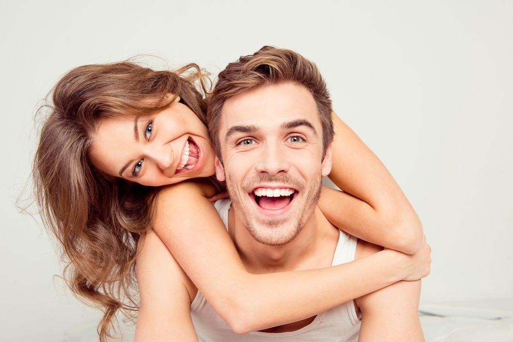 couple smiling dental boding middleborough ma