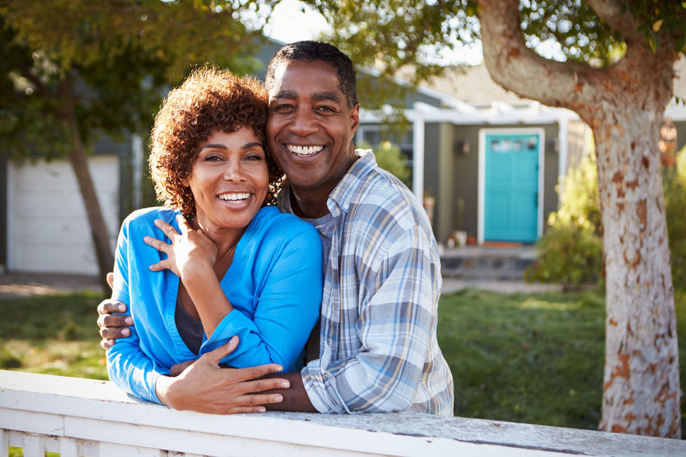 smiling couple dentures middleborough ma